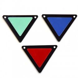 Plexi Acrylic Pendant Triangle 37x29mm