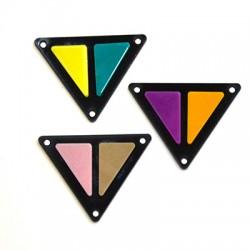 Πλέξι Ακρυλικό Στοιχείο Τρίγωνο 37x29mm