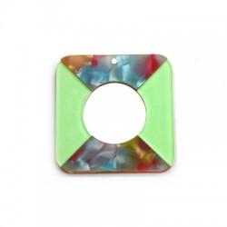 Plexi Acrylic Square Hollow 40mm
