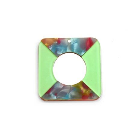 Πλέξι Ακρυλικό Μοτίφ Τετράγωνο Περίγραμμα 40mm