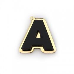 "Plexi Acrylic Pendant Letter ""Α"" 39x40mm"