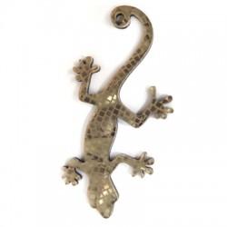 Plexi Acrylic Pendant Lizard 28x55mm