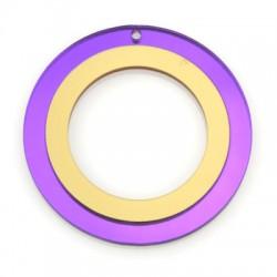 Πλέξι Ακρυλικό Μοτίφ Κύκλος 60mm