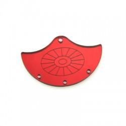 Plexi Acrylic Pendant Fan 50x32mm