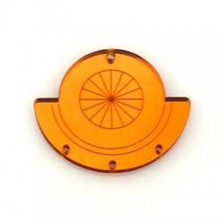 Plexi Acrylic Pendant 50x42mm