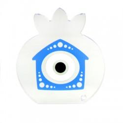 Πλέξι Ακρυλικό Επιτραπέζιο Ρόδι Σπίτι Μάτι 85mm