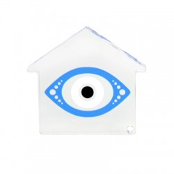 Plexi Acrylic Deco House Eye 75mm