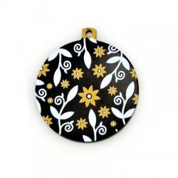 Plexi Acrylic Lucky Pendant Ball 45mm