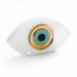 Plexi Acrylic Pendant Rectangular Eye 63x59mm