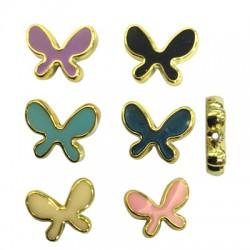 CCB Enamel Butterfly 22x28mm