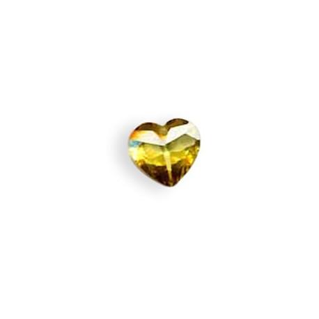 Zircon Heart 12x12mm