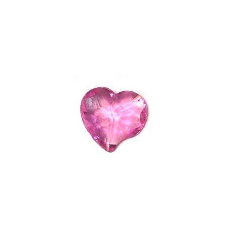 Zircon Heart 18x18mm