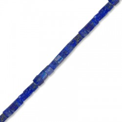 Lapis Square 4mm(40cm length-approx.95 pcs/str)