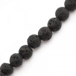 Lava Ball 8mm(40cm length-approx.40pcs/str)