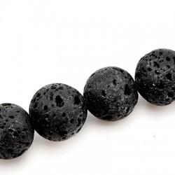 Lava Ball 14mm(40cm length-approx.30pcs/str)
