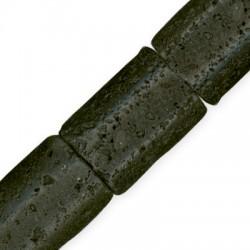 Lava Rectangle 25x35mm(40cm length-approx.11pcs/str)