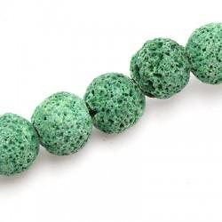 Perle Lave Colorée 12mm (40cm/fil)