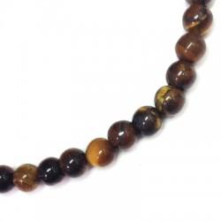 Tiger Eye Bead Round ~6mm (~64pcs/string)
