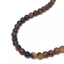 Tiger Eye Bead ~4mm (~95pcs/string)