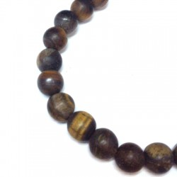 Tiger Eye Bead ~8mm (~48pcs/string)