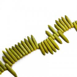 Howlite Pendant Needle 25mm