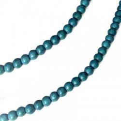 Perle Passant en Chaolite 4mm (~107pcs/fil)