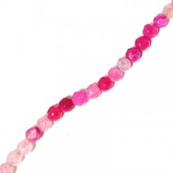 Agate Faceted Bead 4mm (40cm/string)