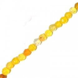 Perle Facettée en Agate 4mm (40cm/Fil)