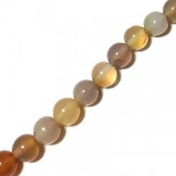 Perle en Agate 8mm (40cm/Fil)