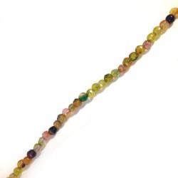 Perlina di Agata Sfaccettata 4mm (~95pz/filo)