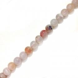 Perlina di Agata Sfaccettata 10mm (~38pz/filo)