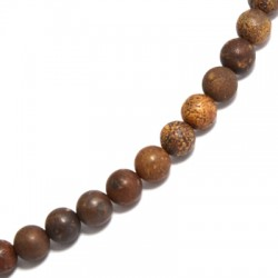 Perlina di Agata ~8mm (~48pz/filo)