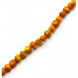 Agate Bead Faceted 8mm (~51pcs/string)