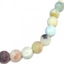 Amazonite Bead Round 8mm (~48pcs/string)