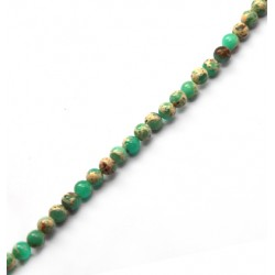 Agalmatolite Bead Round ~6mm (~65pcs/string)