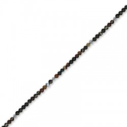 Perlina di Agata Liscia 2.2mm (~197pz/filo)