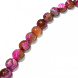 Agate Faceted Ball 10mm