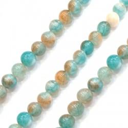 Mountain Jade Bead Round 8mm (~47pcs/string)