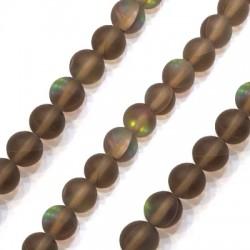 Σπεκτρολίτης Οπάλιο Χάντρα Στρογγυλή 10mm (~39τμχ/κορδόνι)