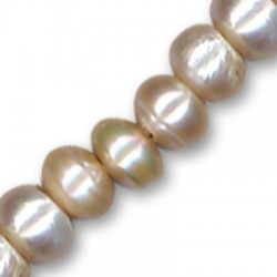Fresh water pearl round 11mm (Ø 2mm)