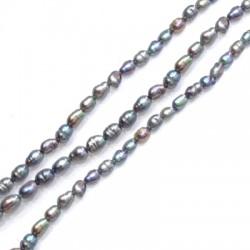 Fresh Water Pearl Bead Irregular (~4x5mm) (~66pcs/string)