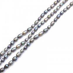 Perla d' Acqua Dolce Irregolare (~5x6mm) (~50pz/filo)