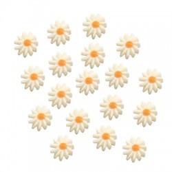 Fress Water Pearl Bead Flower Daisy 10mm (Ø1mm)