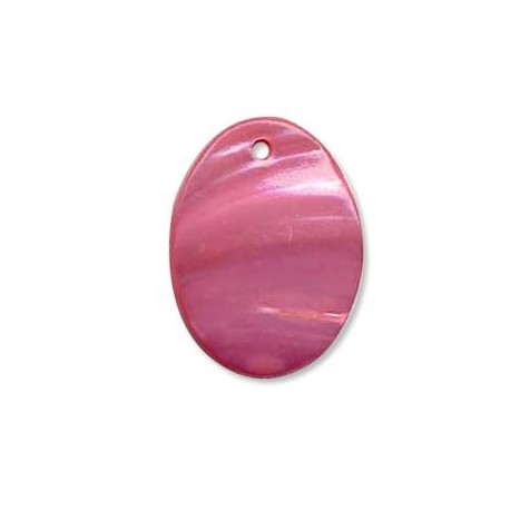Shell Pendant Oval 30x40mm