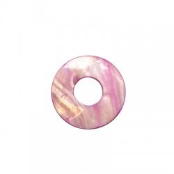 Shell Pendant Round 50x20mm