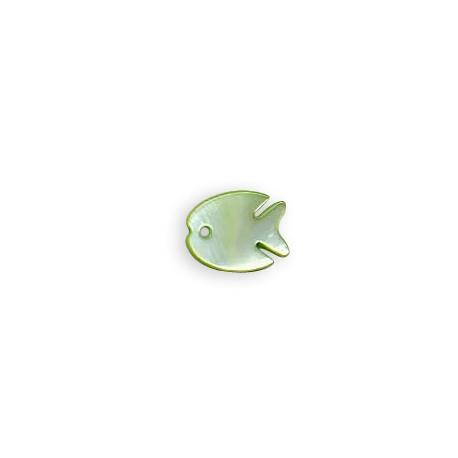 Κοχύλι Μοτίφ Ψάρι 14x17mm