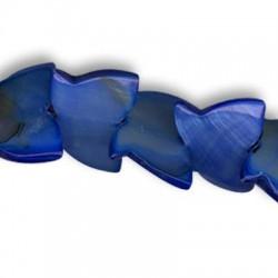 Κοχύλι Στοιχείο Πεταλούδα Περαστή 15x20mm
