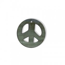 Shell Peace Sign 30mm