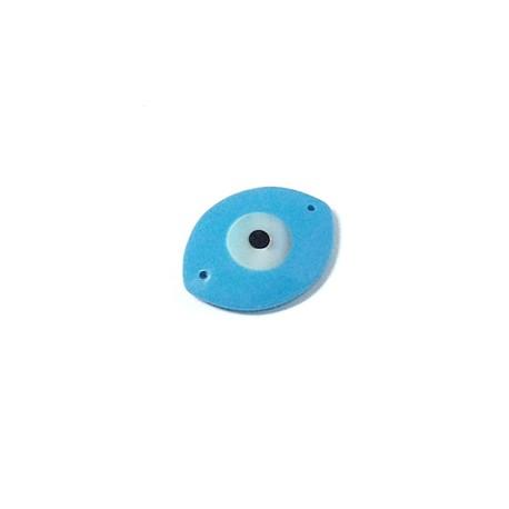 Sea Shell Eye Oval 15x20mm