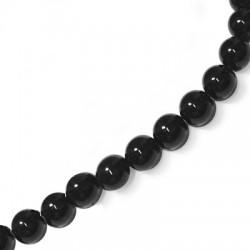 Perlina in Vetro Lucida 4mm  (~102 pz/filo)